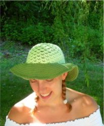 Custom Brimmed Sun Hats by Color ME Crazy LLC